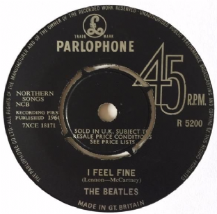 "Beatles (The) ‎- I Feel Fine (7"") (F+/NM)"